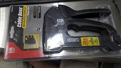Gardner Bender Cable Boss Staple Guns Gb Msg-501B Nm Coax Insulated Stapler