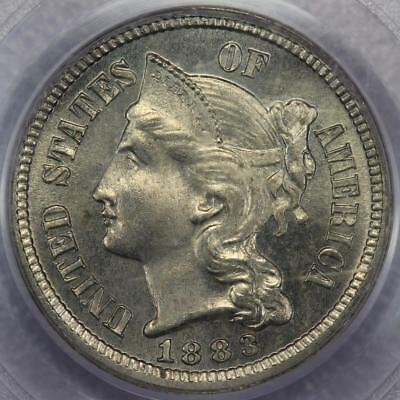 1883 Proof Three Cent Nickel PCGS PR64 - OGH Old Holder - *DoubleJCoins* - 586A4