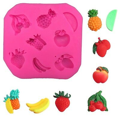 Silicone Mould- Mixed Fruits (Standard-Size) + 3 For 2 Offer