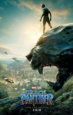 "Black Panther ( 11"" x 17"" ) Movie Collector's Poster Print (T2) - B2G1F"