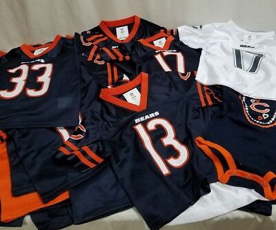 Chicago Bears Youth Jersey Lot 100 NWOT NFL FOOTBALL Baby Suits Wholesale Shirts