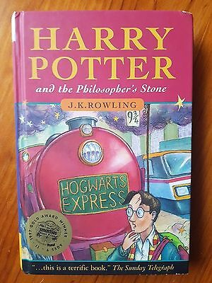 Harry Potter and the Philosopher's Stone (First Print) Hardback 1st Edition Rare