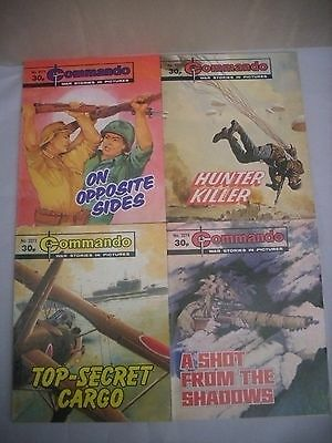 Job Lot of 4 Commando Comics     #2271   #2272   #2273   #2274