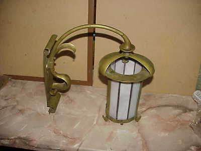 Arts and Crafts wall light,Art Nouveau sconce lamp.