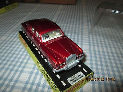 DINKY TOYS  MODEL No.158 ROLLS ROYCE SILVER SHADOW  LIMOUSINE -BOXED