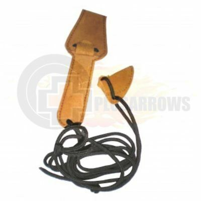 Leather Bow Stringer Tip to Tip For Archery Recurve and Long Bows