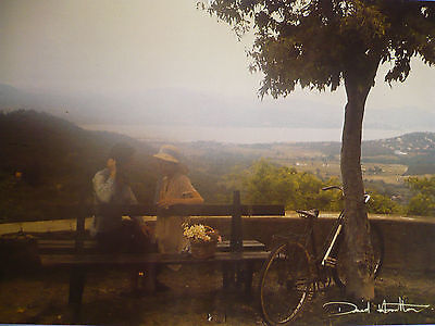 Carte Postale   DAVID  HAMILTON   Postcard  Couple  Vélo  Arbre