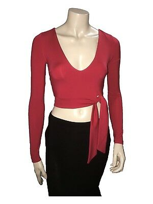 Red Kookai Top great for Latin Dancing - Size 1 - A Grade Condition