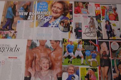 BETTY WHITE *Magazine Clippings *The Golden Girls Hot In Cleveland