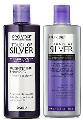 TOUCH OF SILVER Shampoing & Revitalisant 200ml chaque