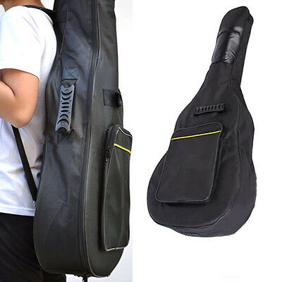 Classic Guitar Bag Acoustic Back Case Electric Full Size Carry Waterproof Padded