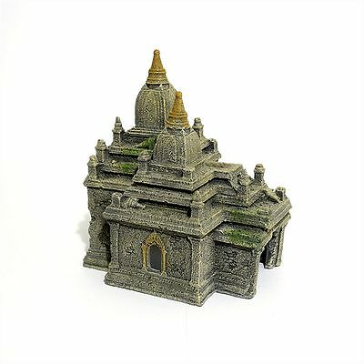 Bagan Temple Ruins Eastern Ancient Ruin Fish Tank Cave Aquarium Ornament