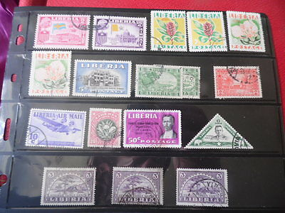 Liberia ~ Mixed Used ~ Lot 10