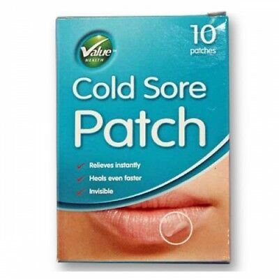 Value Health Cold Sore Patches - Pack/10