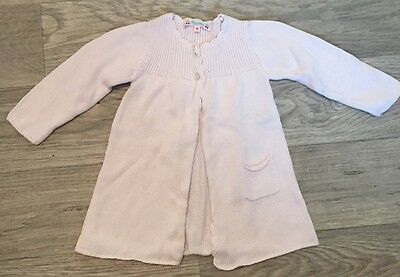 Bonpoint Baby Girl Pink Sweater Top Size 18 Months