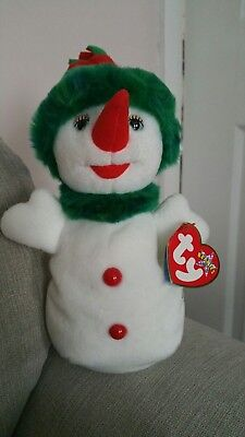 Ty beanie babies. Snowgirl.  Mint Condition.