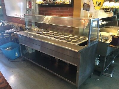 Commercial Resataraunt Stainless Steel Salad Bar