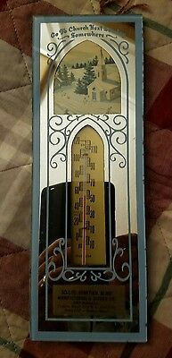 Vintage Thermometer Mirror