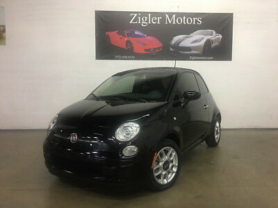 2013 Fiat 500  2013 Fiat POP Black,5 Speed One Owner CLEAN CARFAX