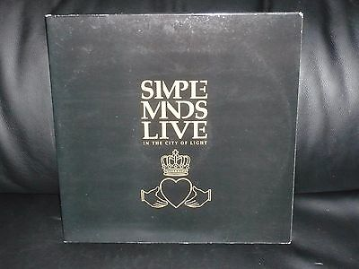 SIMPLE MINDS LIVE IN THE CITY OF LIGHT vinilo vinyl 1987