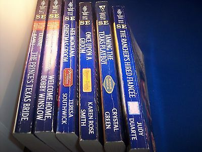 Lot of 6 Harlequin Special Edition Paperback Books
