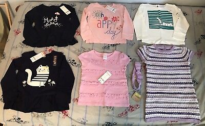 NWT Gymboree Girls 3T & 4T Tops Shirts & Sweater Dress LOT