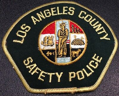 Obs. California Police Patch Los Angeles Police Safety Police
