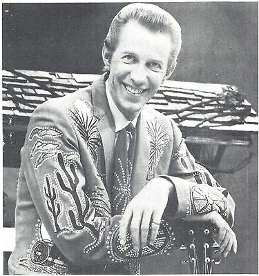 Porter Wagoner, Country Music Star in 1969 Magazine Print Photo Clipping