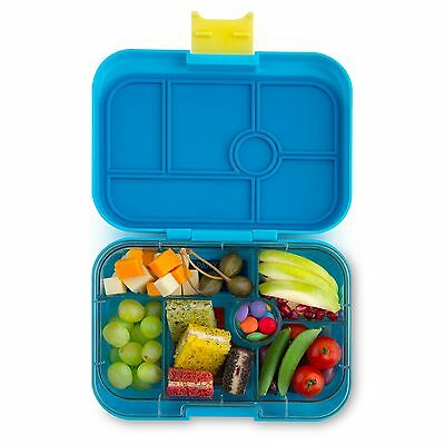 Yumbox Classic - Kai Blue.  Leakproof, bento, lunchbox for babies and young kids