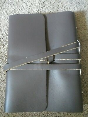 Journal/Notebook - leather (BROWN)