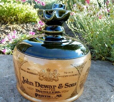 John Dewar Perth Scotlad Doulton whisky whiskey jug  pitcher