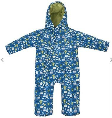 new tresspass baby snowsuit snow suit 6-12 months