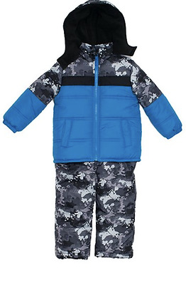 NEW iExtreme infant snowsuit snow suit puffer coat and ski bib 12 months