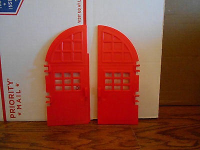 Vintage The Real Ghostbusters Firehouse Doors Kenner