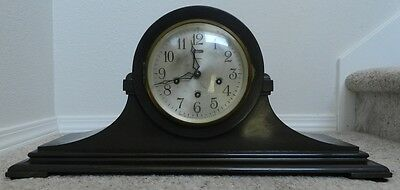 Early Vintage Astonia Mantel hump back Clock  - Works great