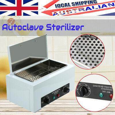 UV Sterilizer Cabinet Disinfection Autoclave Heater Salon Tattoo Dental  Medica