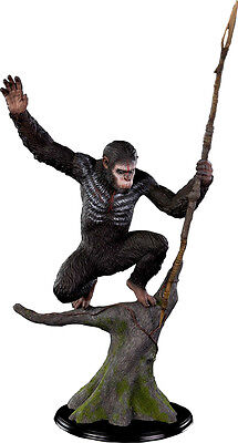 PLANET OF THE APES - Caesar 1:4 Scale Statue (Pop Culture Shock) #NEW