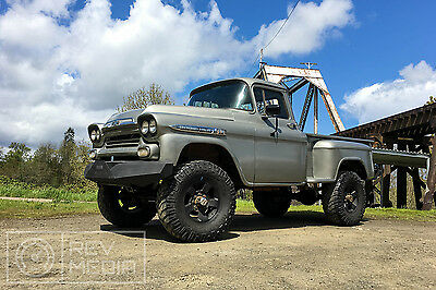 1959 Chevrolet Other Pickups Apache 1959 Chevrolet 3100 Lifted 4x4 Apache
