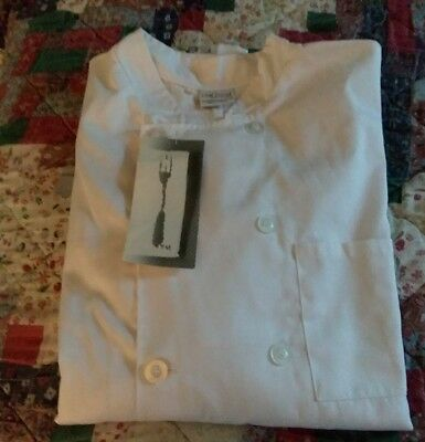 Chef Works White Chef Jacket, Size L