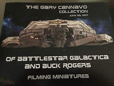 PROFILES IN HISTORY Auction catalog Gary Cannavo Collection Battlestar Galactica