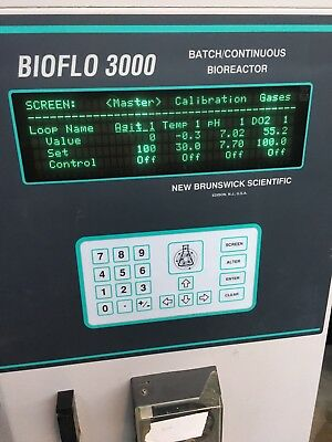 New Brunswick Scientific BioFlo 3000 Bench-Top Fermentor - Pick Up Southern CA