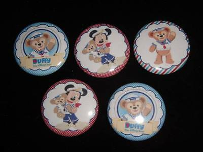 Disney Bear Duffy buttons flat back or pin badge cabochons embellishments magnet