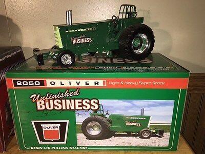 1/16 Speccast 2050 Oliver Unfinished Business Super Stock Pulling Tractor