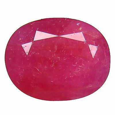"""3.40Ct """"GIL"""" CERTIFIED UNHEATED UNIQUE COLLECTION AMAZING FIRE MOZAMBIQUE RUBY"""