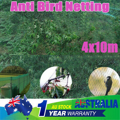 Commercial Knitted Anti Bird Netting Green Pest Net Fruit Plant Tree Mesh Whole