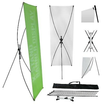 """Wall26 23""""X63"""" Adjustable Tripod X Banner Stand with a Traveling Bag For Trade S"""