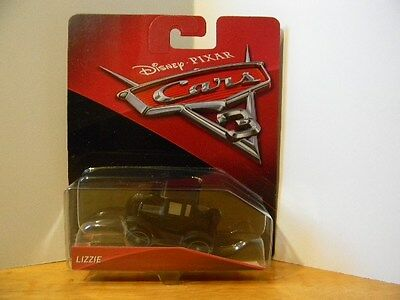 "DISNEY PIXAR ""CARS 3"" LIZZIE.  New, Unopened"