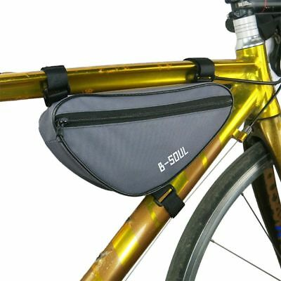 Triangle Cycling Bike Bicycle Front Tube Frame Pouch Bags Holder Saddle Pannier