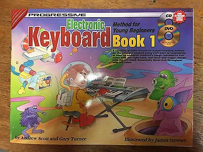 Progressive Electronic Keyboard Method for Young Beginners Book 1