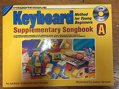 Progressive Electronic Keyboard Method for Young Beginners Suppl. Songbook A